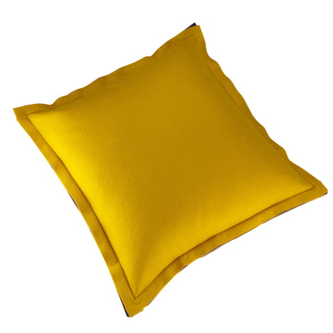Felt Pillow Cover, Old Gold (22x22)