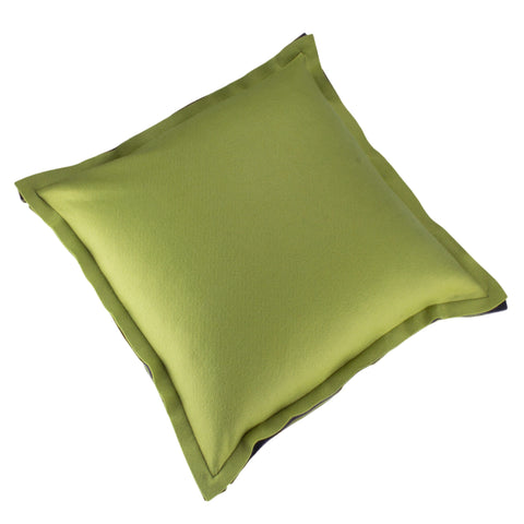 Felt Pillow Cover, Pea Soup (22x22)