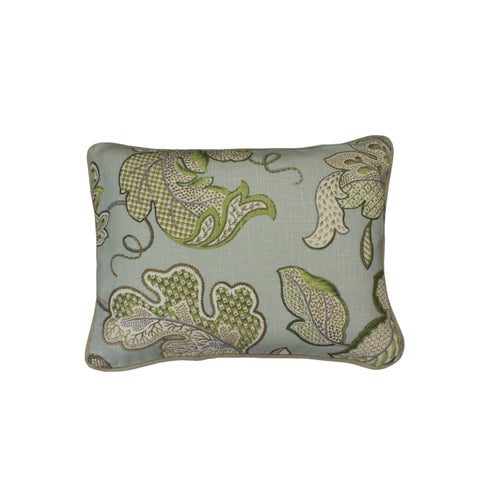 Linen Pillow Cover, Leaf Sampler (12x16)