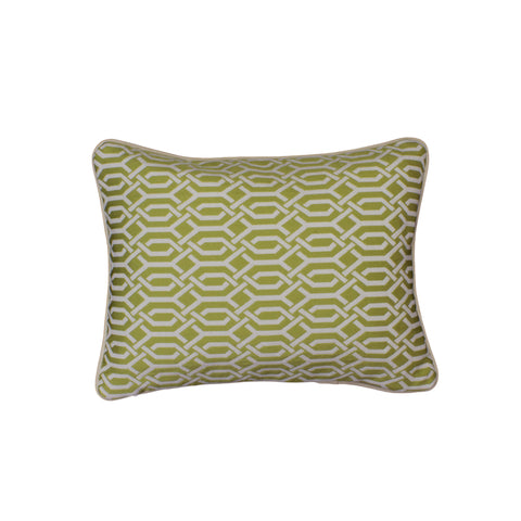 Upholstery Pillow Cover, Lemongrass Interlace (12x16)