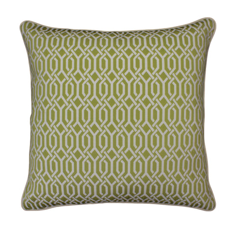 Upholstery Pillow Cover, Lemongrass Interlace (20x20)