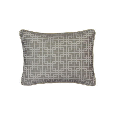 Upholstery Pillow Cover, Locked White Tea (12x16)