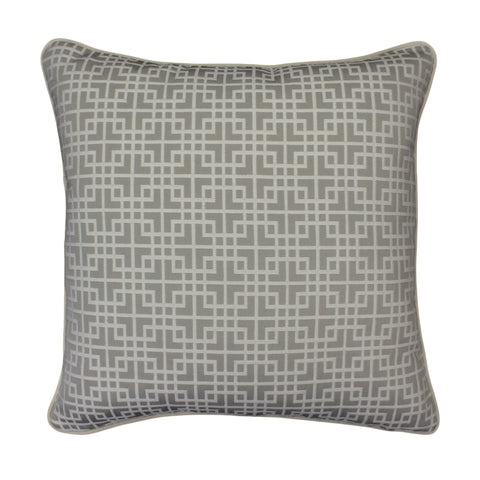 Upholstery Pillow Cover, Locked White Tea (20x20)