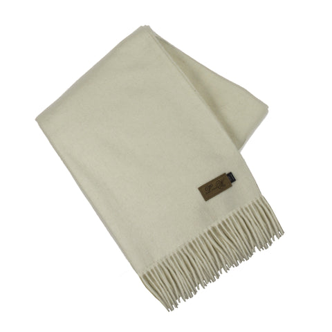 Alpaca Throw, Bern Ivory