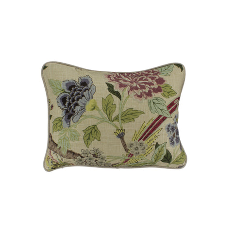Cotton Pillow Cover, Whippoorwill Tapestry (12x16)