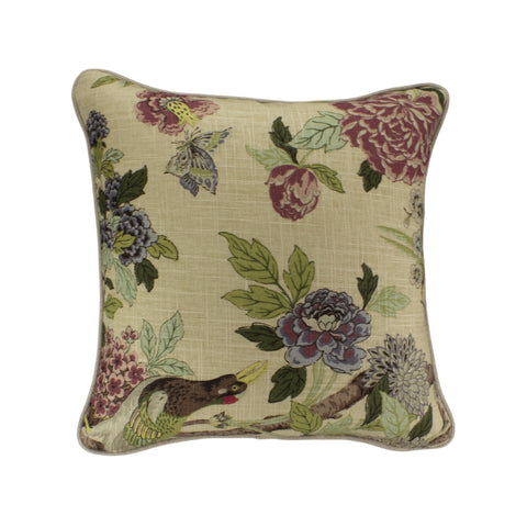 Cotton Pillow Cover, Whippoorwill Tapestry (18x18)