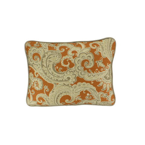 Cotton Pillow Cover, Sylva Apricot (12x16)