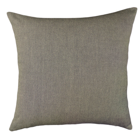 Suiting Pillow Cover, Black/Taupe (20x20)
