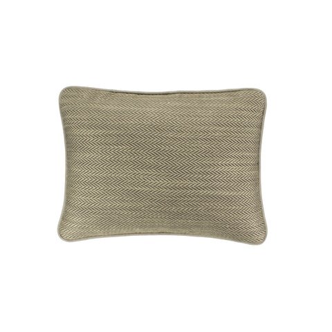 Upholstery Pillow Cover, Driftwood Herringbone (12x16)