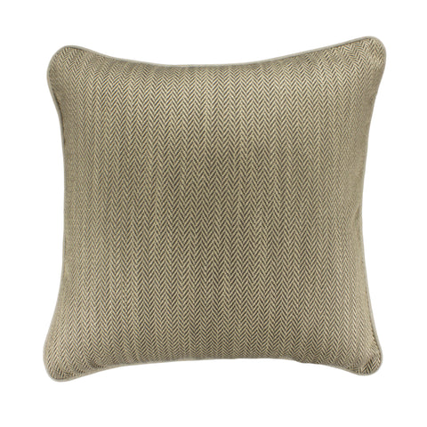 Upholstery Pillow Cover, Driftwood Herringbone (20x20)