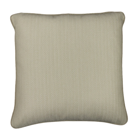 Upholstery Pillow Cover, Oyster Herringbone (20x20)