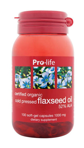Flaxseed Oil Capsules - Healthy Me