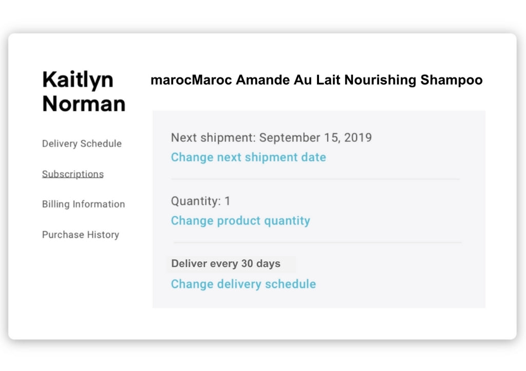 Flexible delivery dates