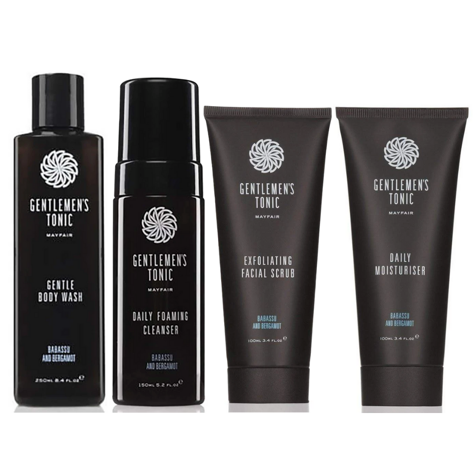 Gentlemen's Tonic Men's Spa At Home Skincare Set
