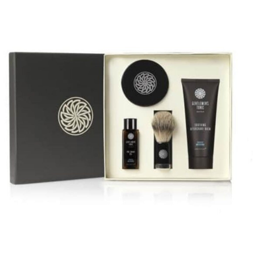 Gentlemen's Tonic Men's Luxury Shave Shaving Gift Set