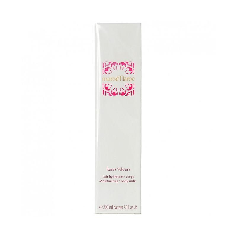 Bath & Body marocMaroc Roses Velours Moisturising Body Milk 200ml
