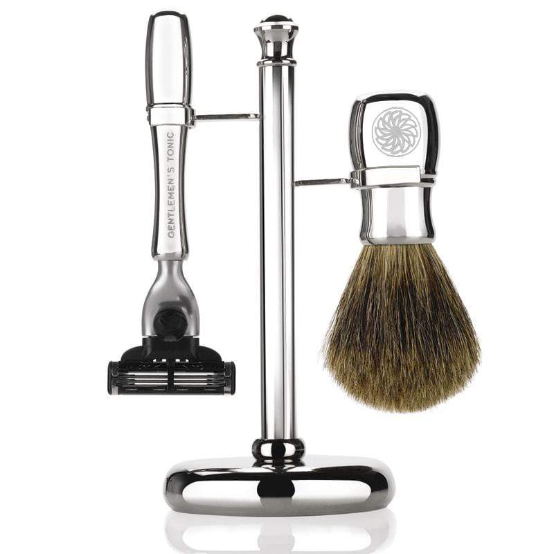 Shaving Gentlemen's Tonic Mayfair Shaving Set - Chrome