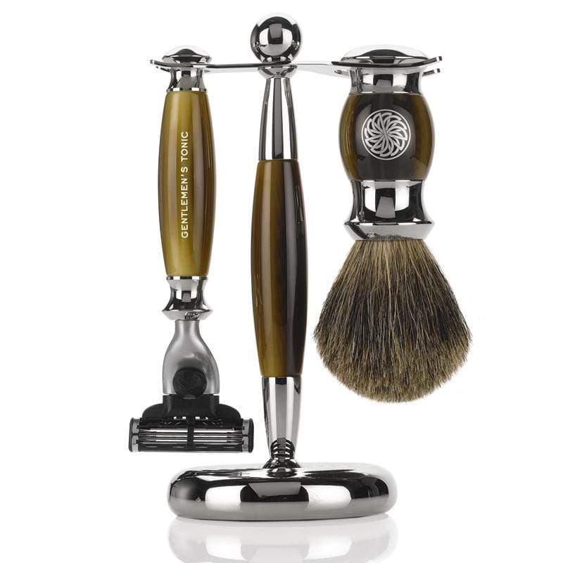 Shaving Gentlemen's Tonic Mayfair Mens Shaving Gift Set - Horn