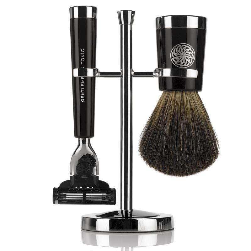 Shaving Gentlemen's Tonic Savile Row Shaving Set - Ebony