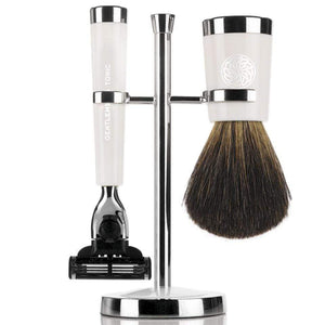 Shaving Gentlemen's Tonic Savile Row Shaving Set - Ivory