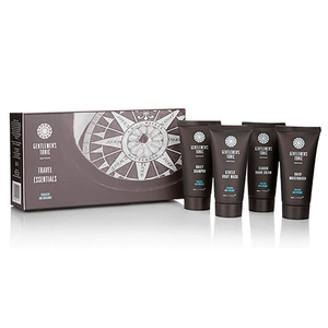 Skin Care Gentlemen's Tonic Babassu & Bergamot Travel Essentials Gift Set