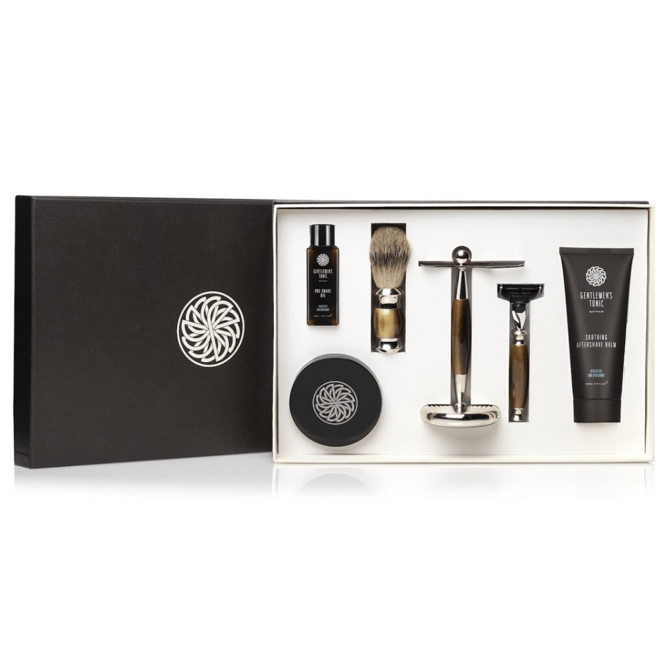 Skin Care Gentlemen's Tonic Babassu & Bergamot Ultimate Gift Set