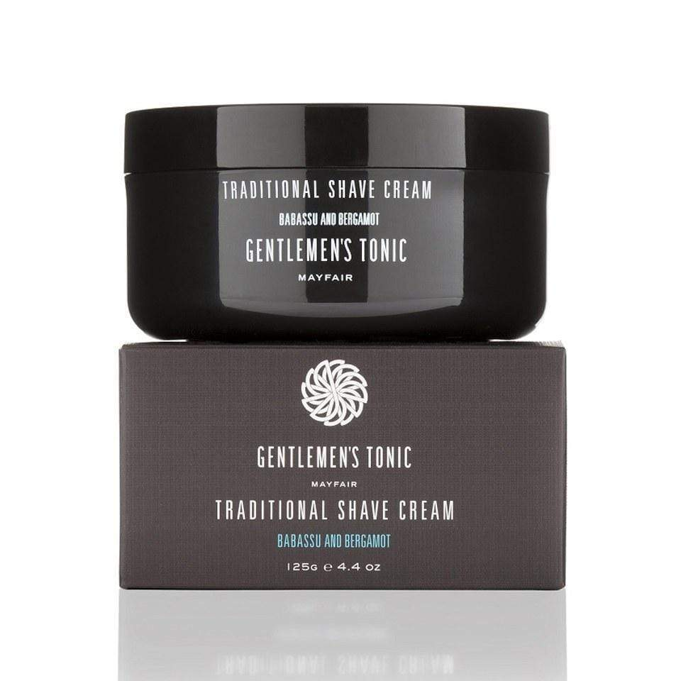 Skin Care Gentlemen's Tonic Mens Traditional Shave Cream 125g