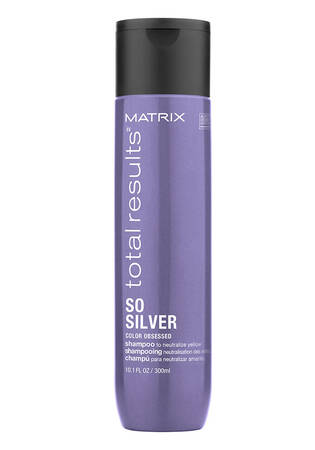 So Silver Color Depositing Purple Shampoo for Blonde and Silver Hair