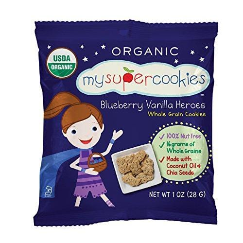 Organic Whole Grain Cookies - 24 pack