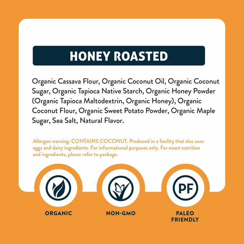 Honey Roasted Puffs - 1oz - 6pk
