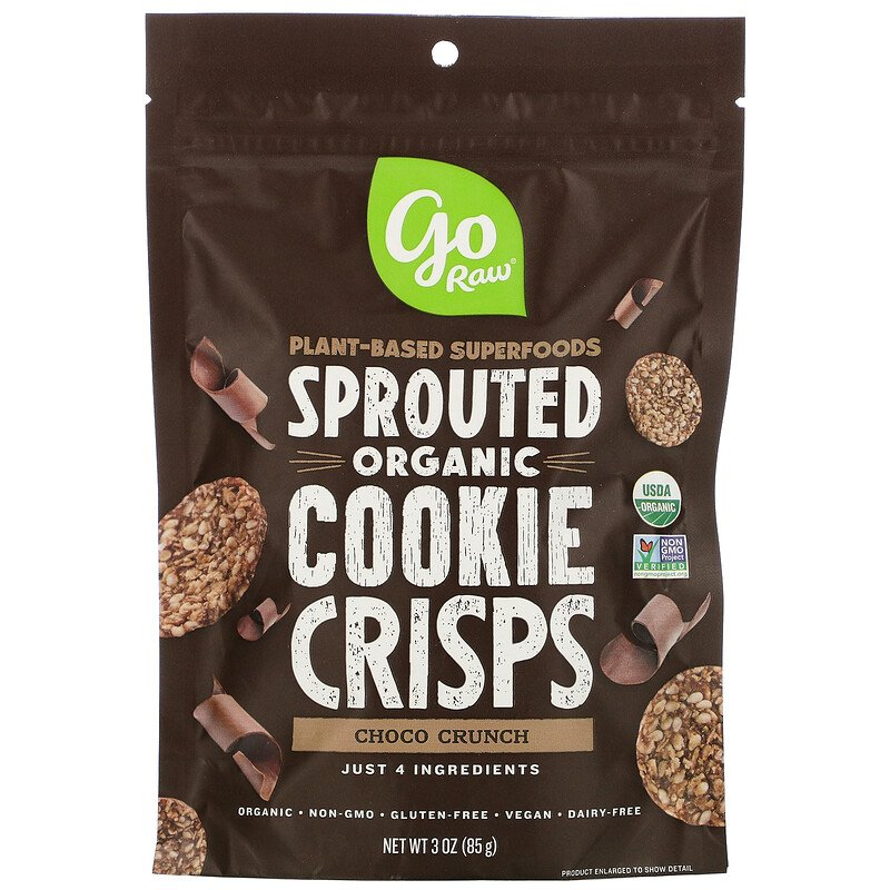 Sprouted Organic Cookie Crisps