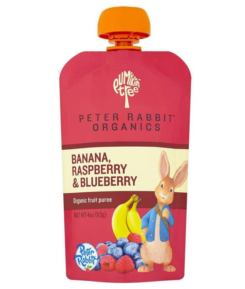 Banana, Raspberry & Blueberry - 4oz