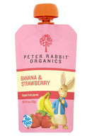 Banana & Strawberry Puree - 4oz