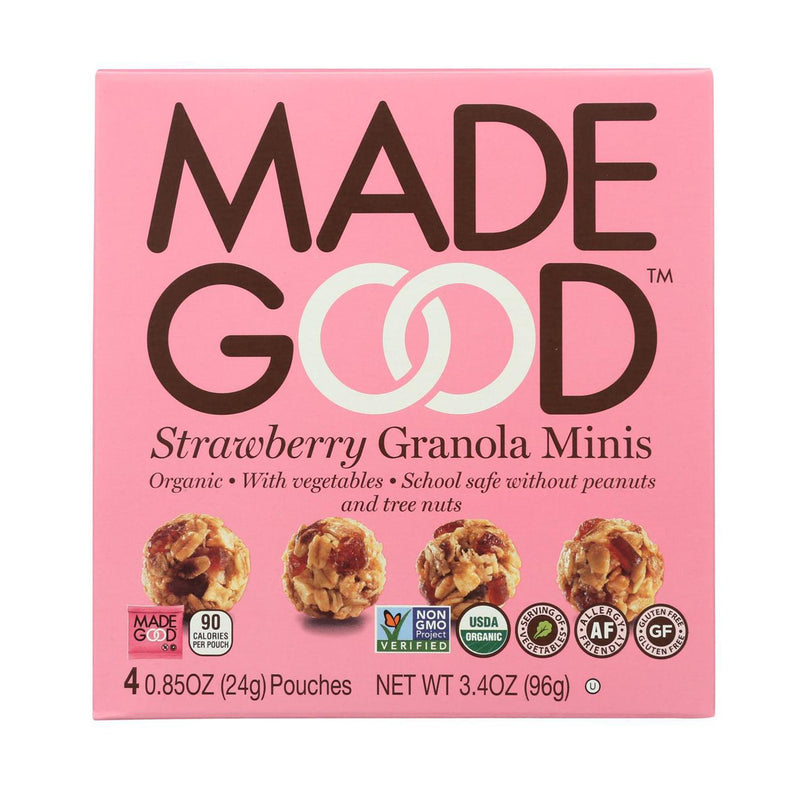 Strawberry Granola Minis - 3.4oz