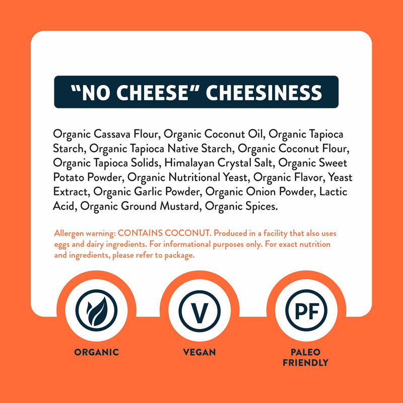 No Cheese Cheesiness Puffs - 1oz - 6pk