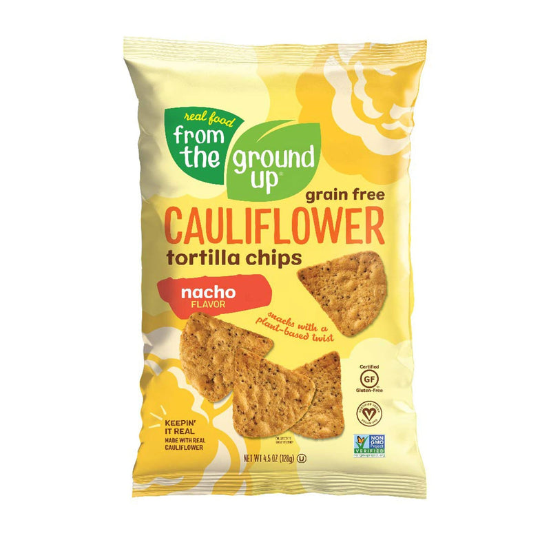 Cauliflower Nacho Tortilla Chips - 4.5oz