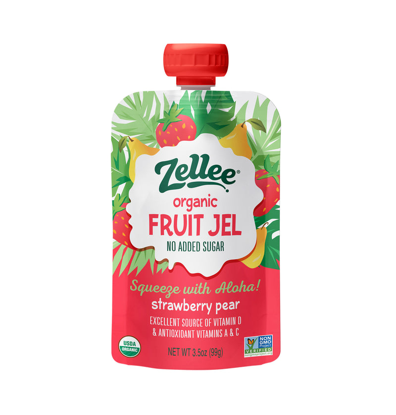 Strawberry Pear Fruit Jel - 3pk