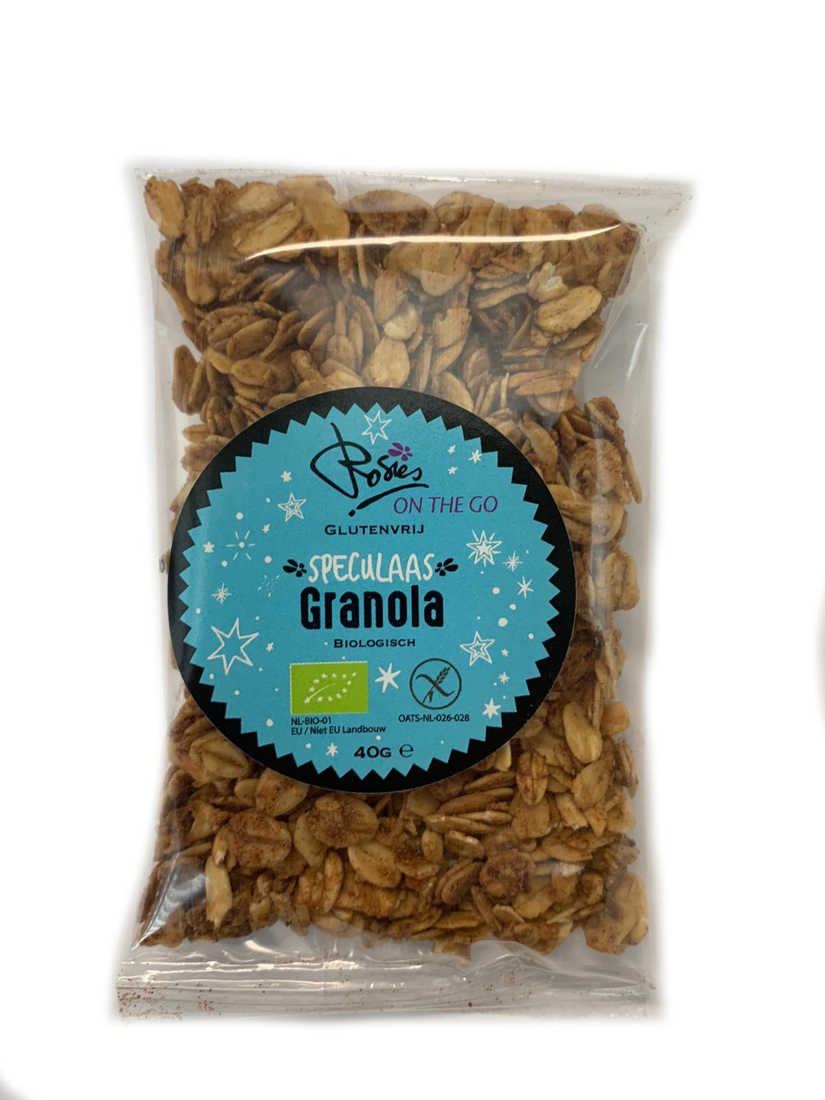 On The Go Speculaas granola Biologisch