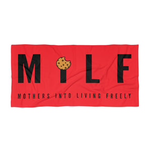 MiLF Basics: Statement RED Towel