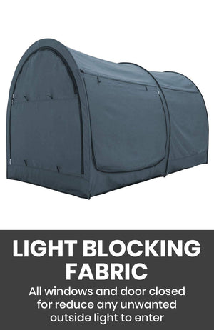 The Bed Tent Lite - Twin/Full/Queen - Charcoal