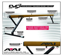 Load image into Gallery viewer, EVO-Black™ Balance Beam