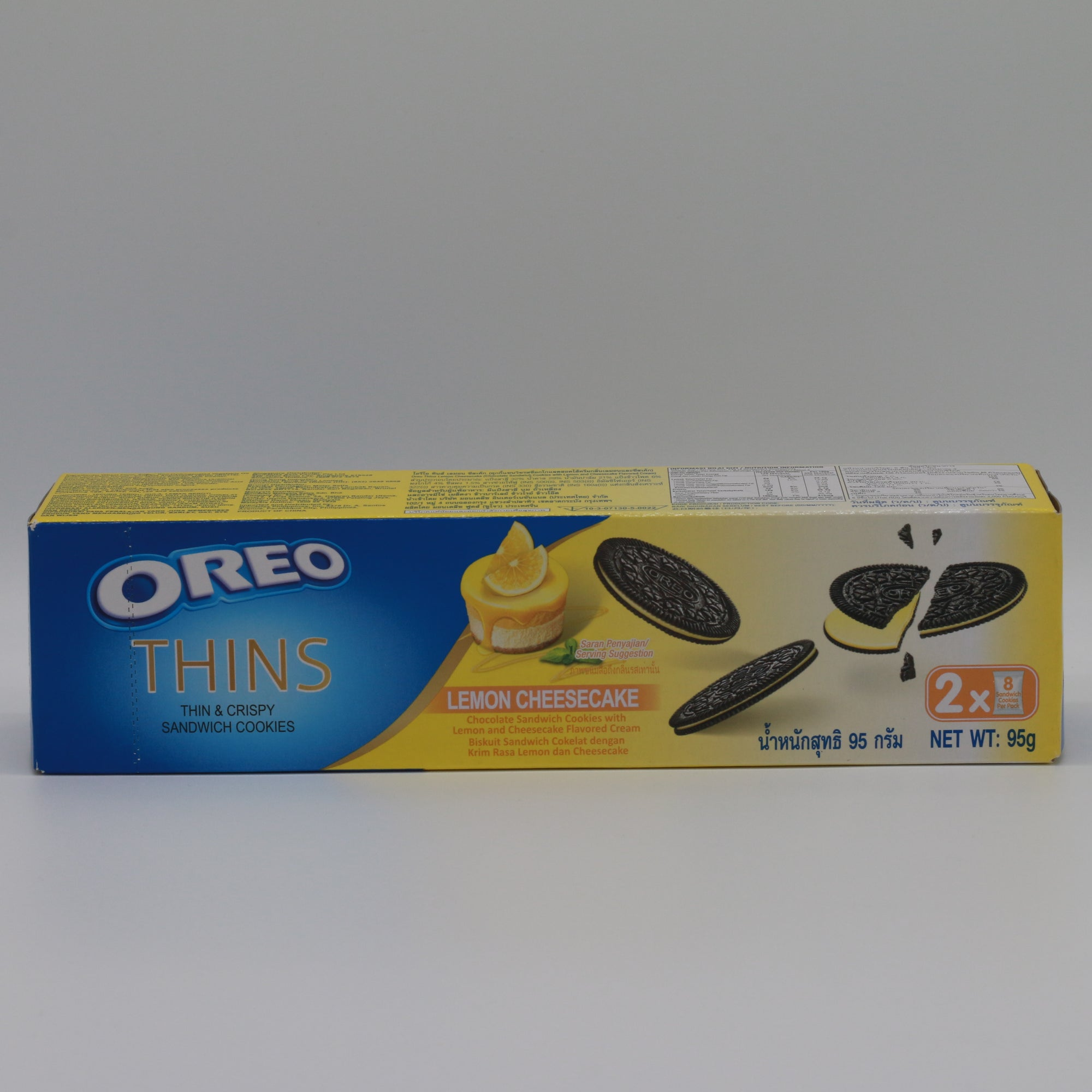 Oreo Lemon Cheesecake Thins