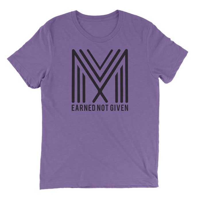 Earned Not Given T-Shirt (Heather Team Purple)