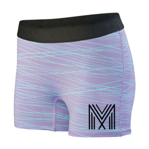 Women's Hyperform Fitted Shorts (Lavender)