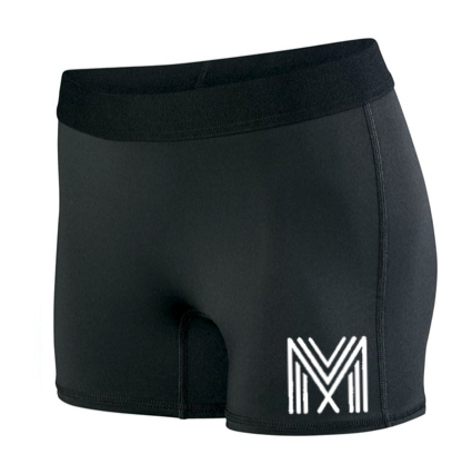 Women's Hyperform Fitted Shorts (Black)