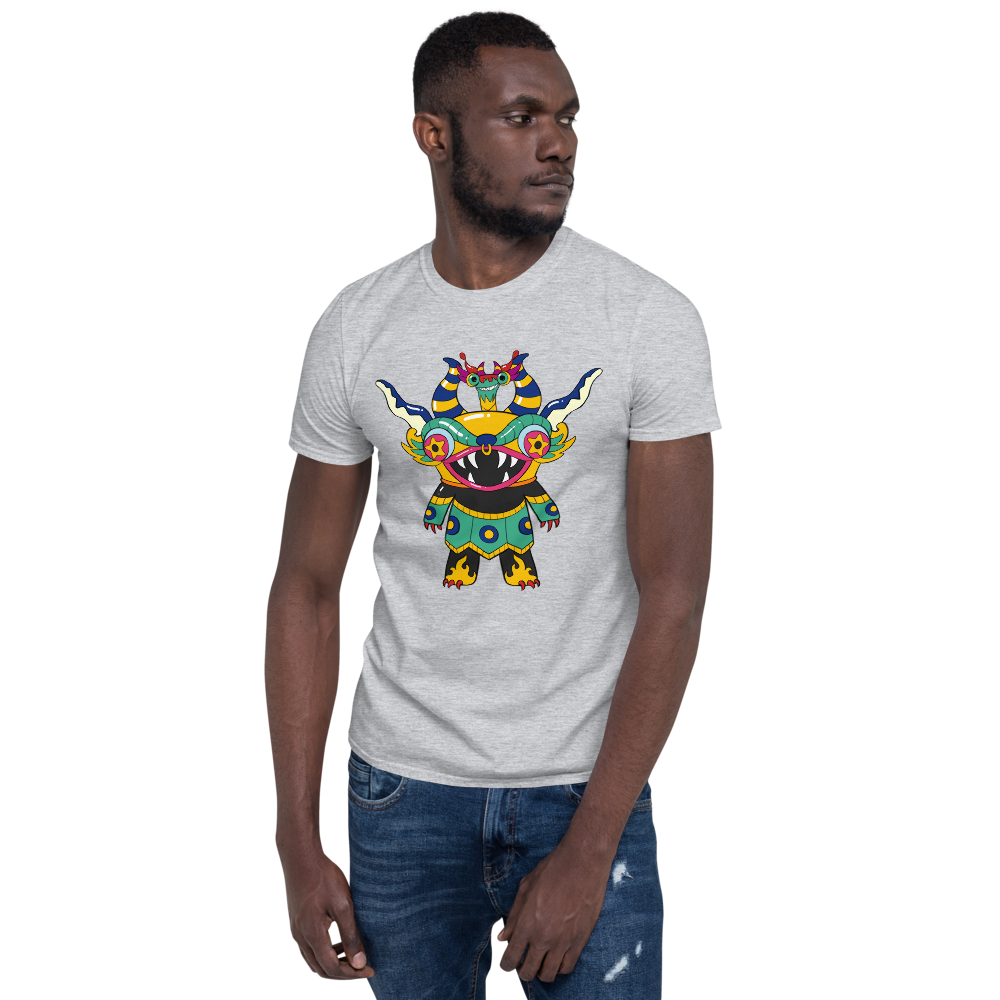 Supay And Pet Dragon Ututu Exclusive Cool Short-Sleeve Unisex Adult T-Shirt