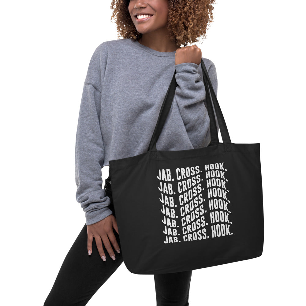 MELTprjct Tote Bag - Jab. Cross. Hook.