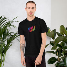 Load image into Gallery viewer, MELTprjct Pride Collection: LOVER & FIGHTER Tee
