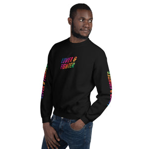 MELTprjct Pride Collection: LOVER & FIGHTER Sweater