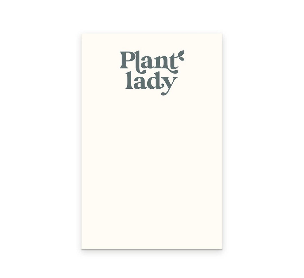 Plant Lady Notepad